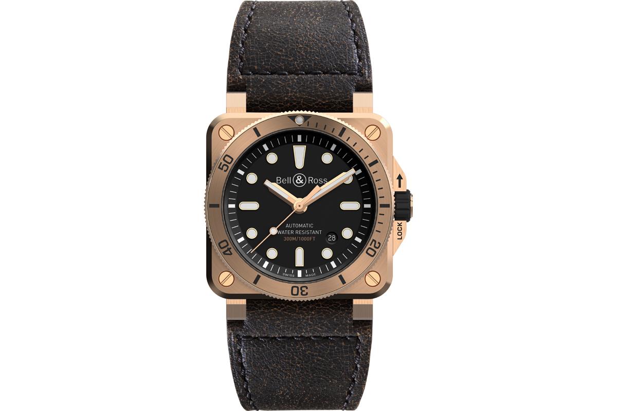 BELL & ROSS BR03-92 Diver Bronze