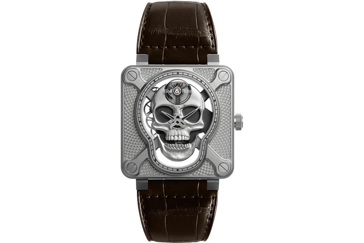 BELL & ROSS BR-01 Laughing Skull
