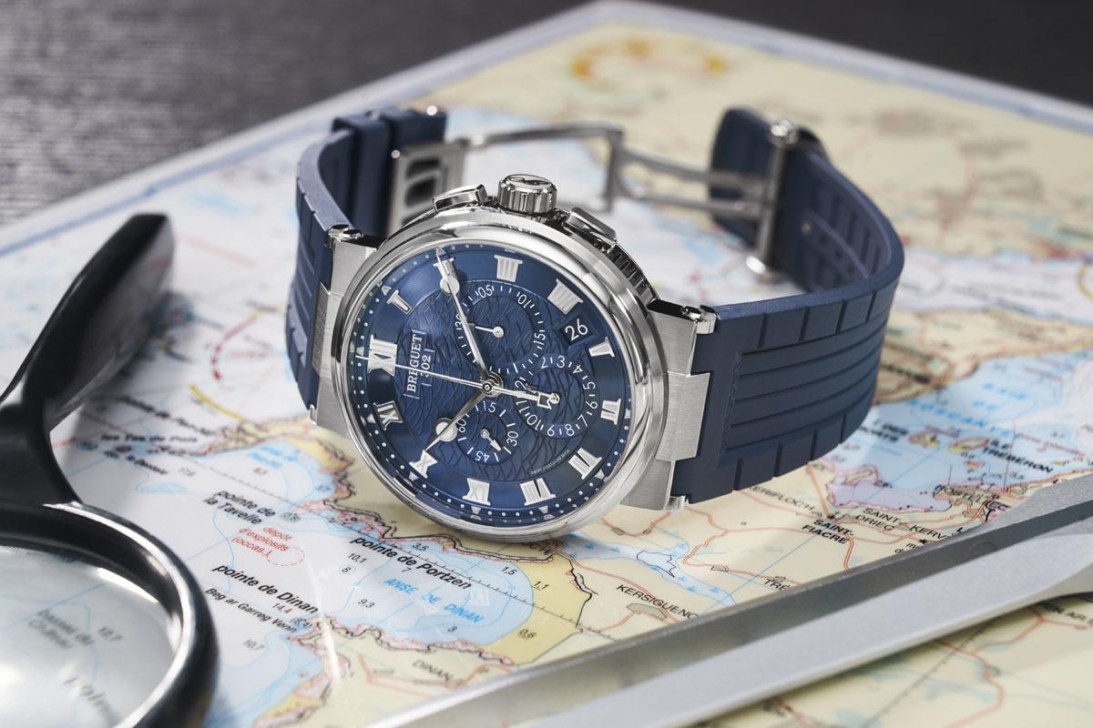 Il Breguet Marine Chronographe 5527