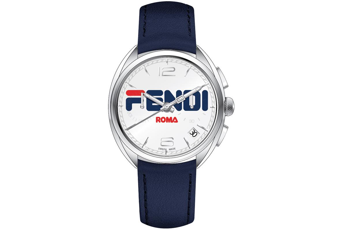 FENDI TIMEPIECES Momento Fendi Fila Chronograph