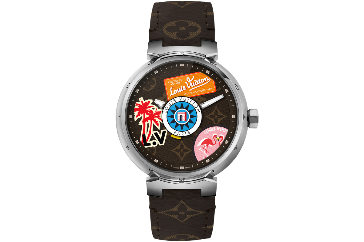 LOUIS VUITTON Tambour World Tour Monogram
