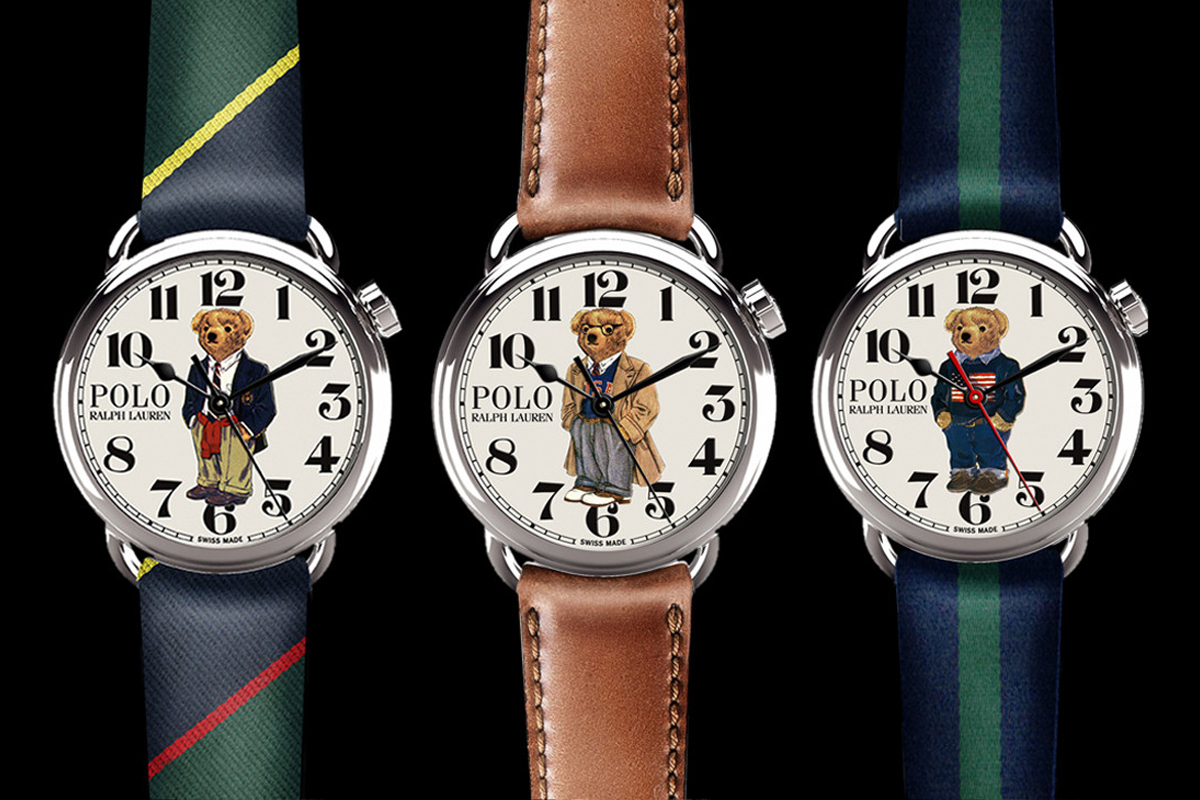 RALPH LAUREN Polo Bear Watches