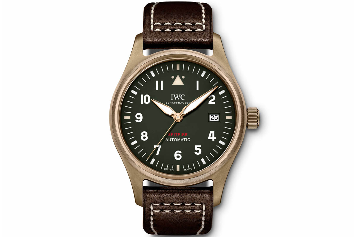 IWC Pilot's Watch Automatic Spitfire Bronze