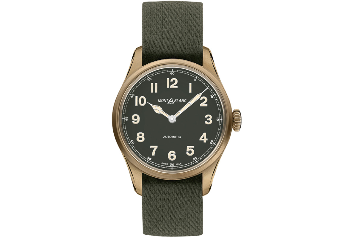 MONTBLANC 1858 Khaki Green Automatic Limited Edition
