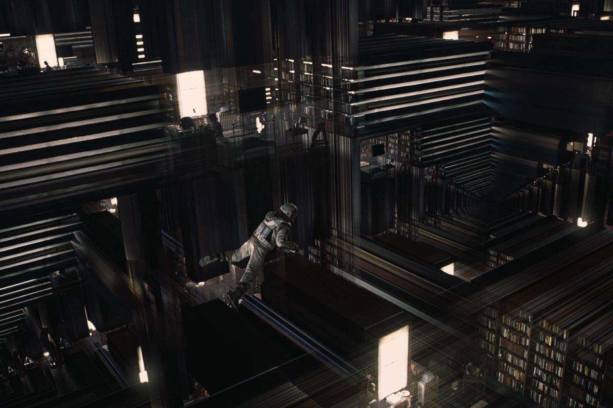 Una scena del film: Joe Cooper nel tesseratto