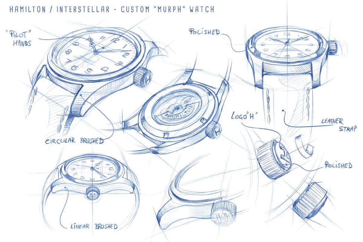 disegni dell'Hamilton Murph