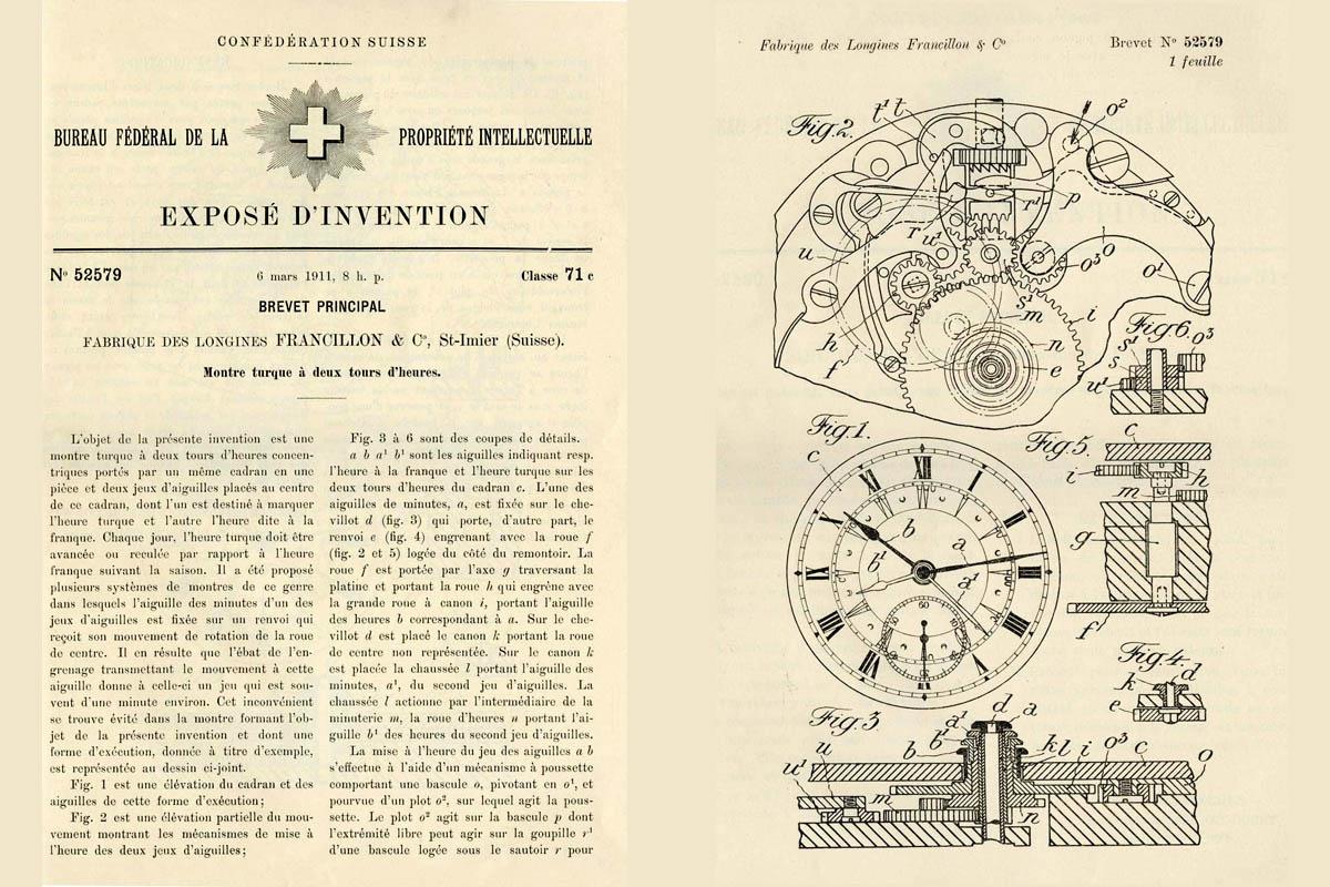 """""""On this day"""": 6 marzo 1911, brevetto per orologio da tasca """"turco"""""""