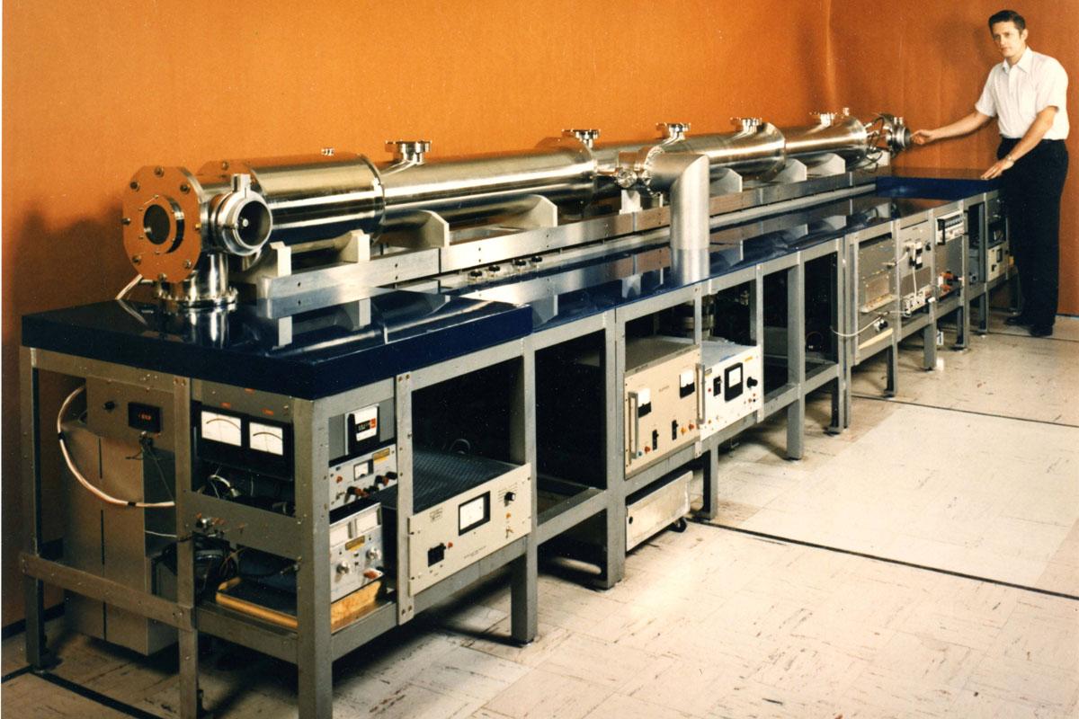 L'rologio atomico del NIST di fine anni Settanta