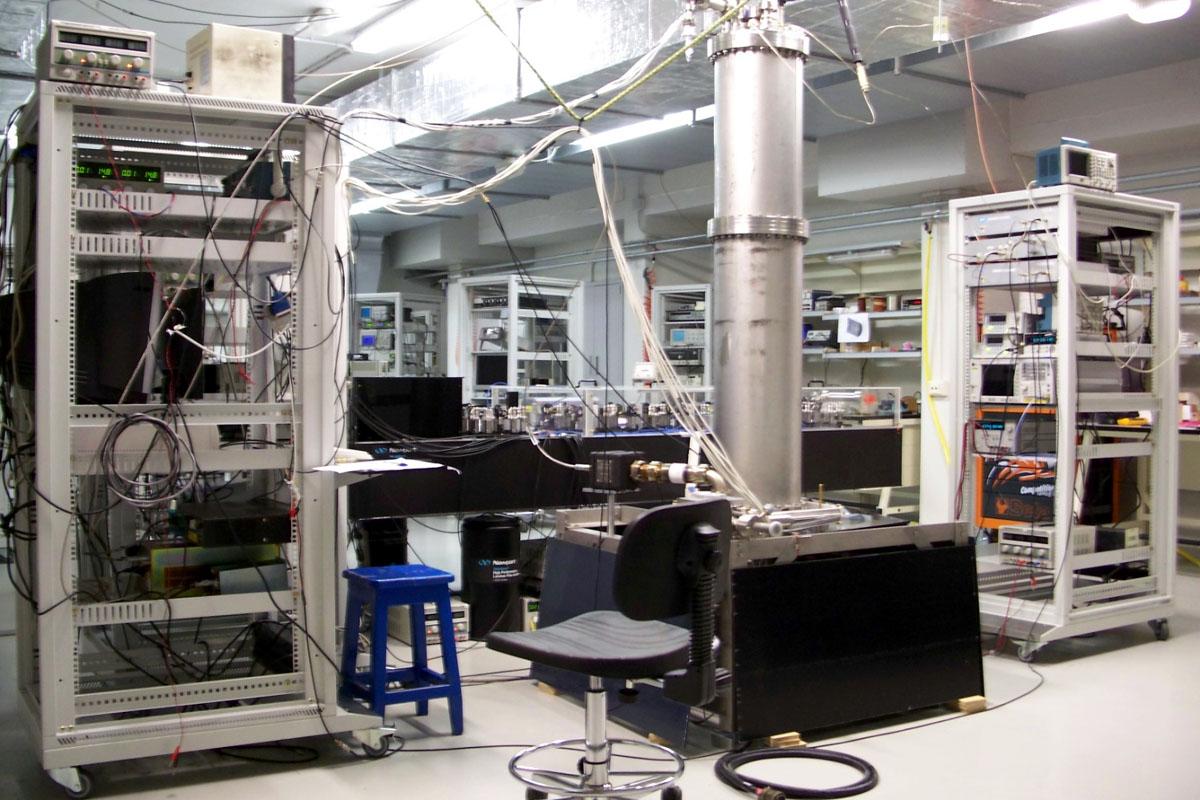 Orologio atomico al cesio dell'INRiM