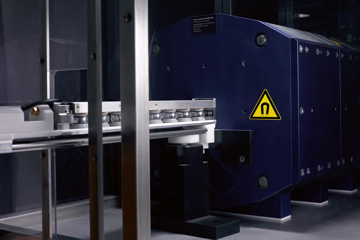 La magnetizzazione è fra i test del Metas che riguardano la precisione