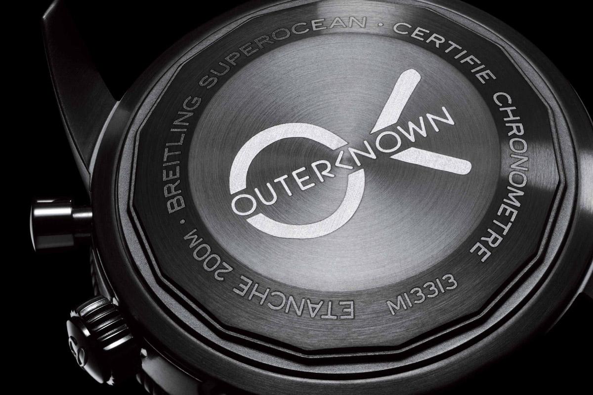 Il fondello del Breitling Superocean Outerknown