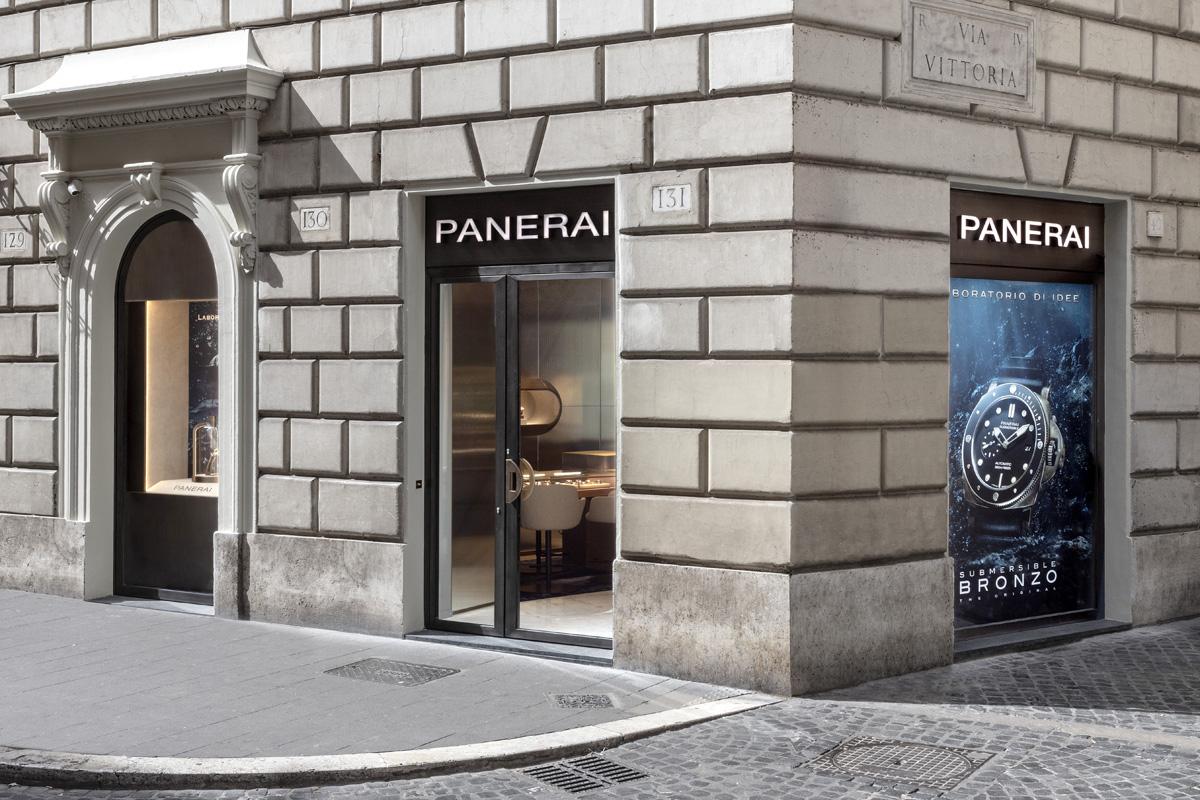 La nuova boutique Panerai a Roma