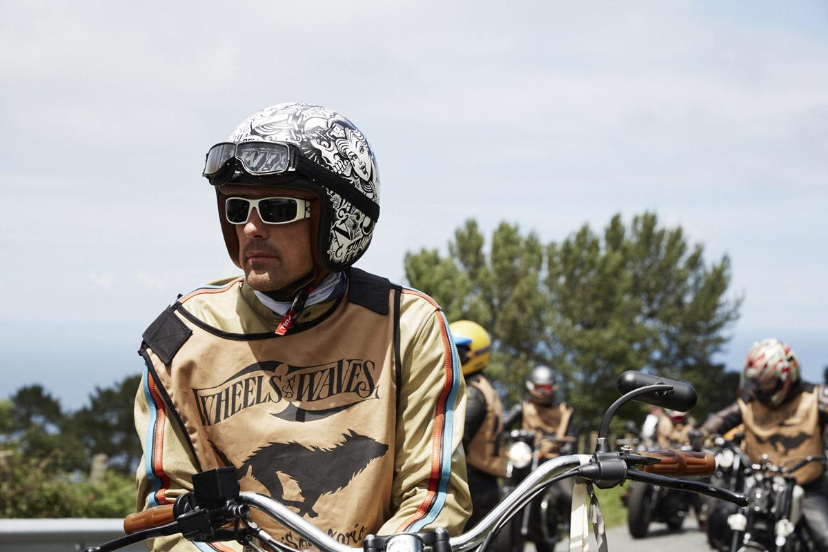 Motociclisti a Wheels & Waves