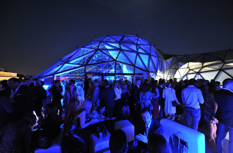 Il party post-evento alla Lanterna di Fuksas