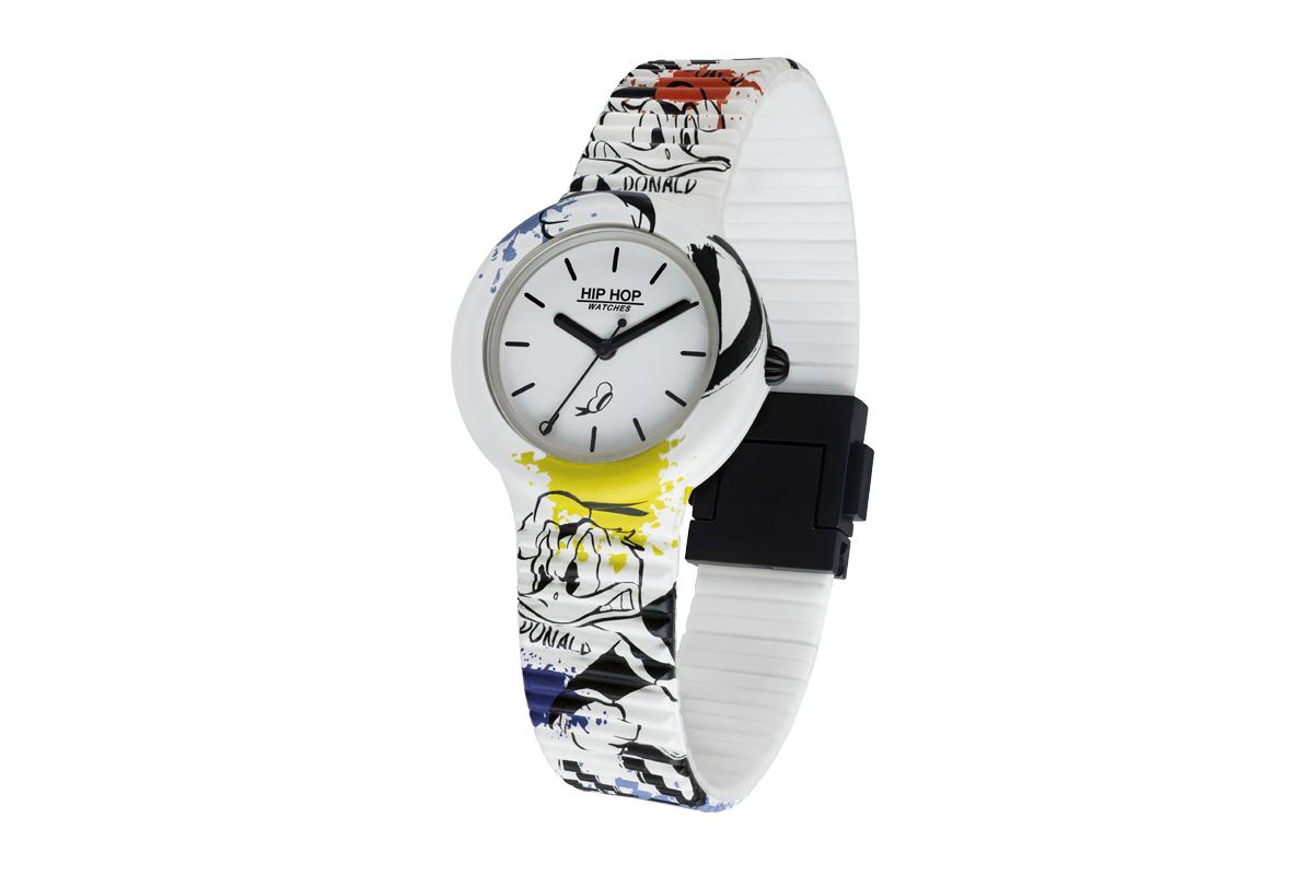L'orologio di Paperino realizzato da Hip Hop
