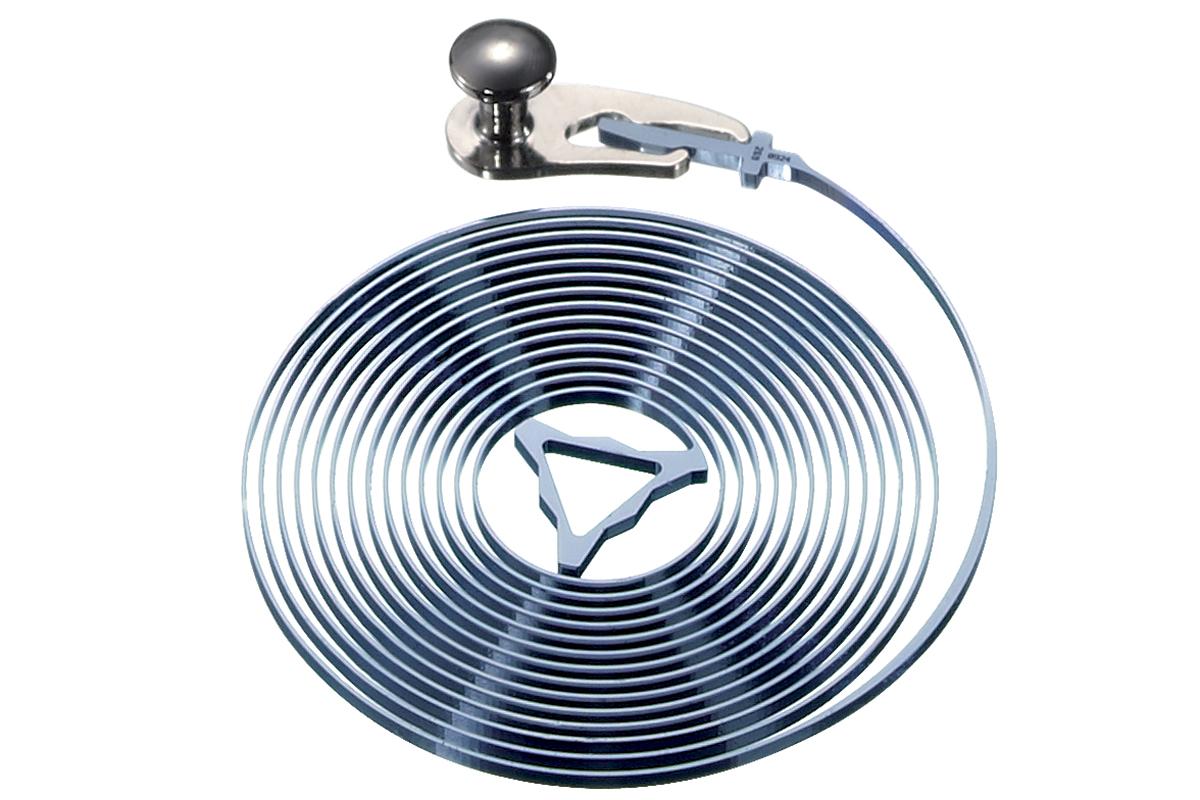 Spirale Spiromax in silicio, 2011