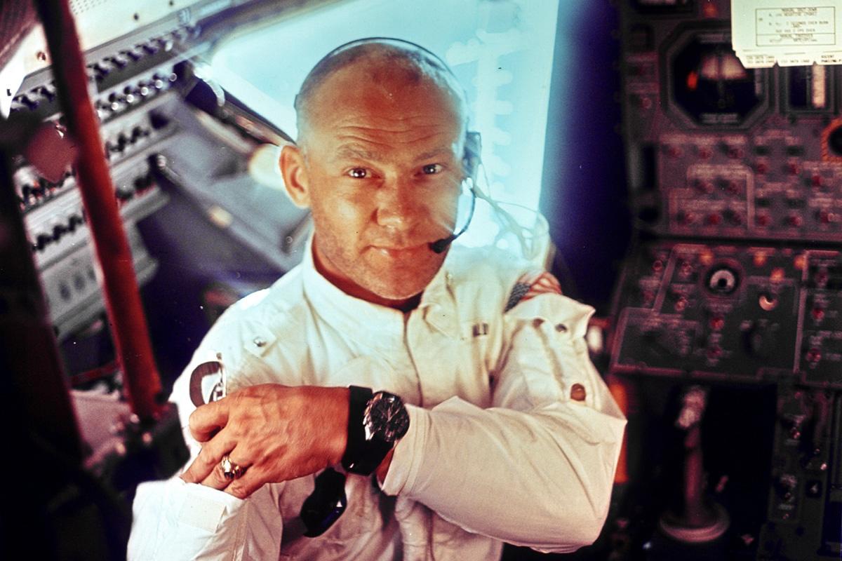Lo Speedmaster al polso di Aldrin