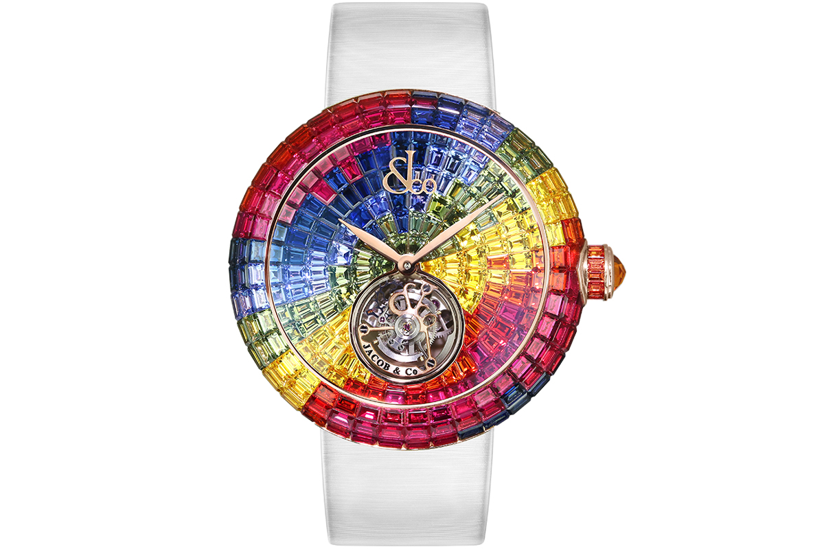 Jacob & Co Brilliant Flying Tourbillon Peru Mountain Colors