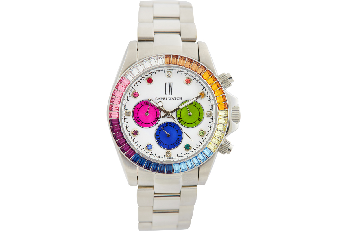 CAPRI WATCH ROSSELLA CHRONO IRIS