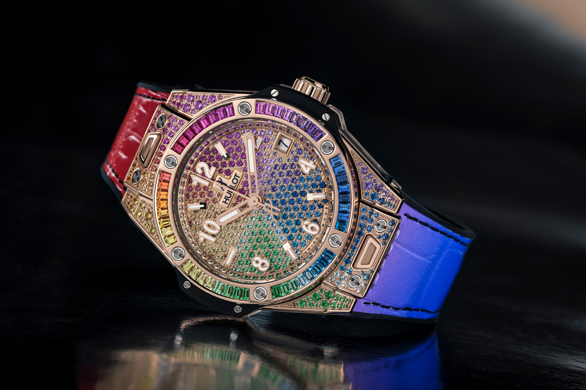 Hublot Big Bang One Click Rainbow