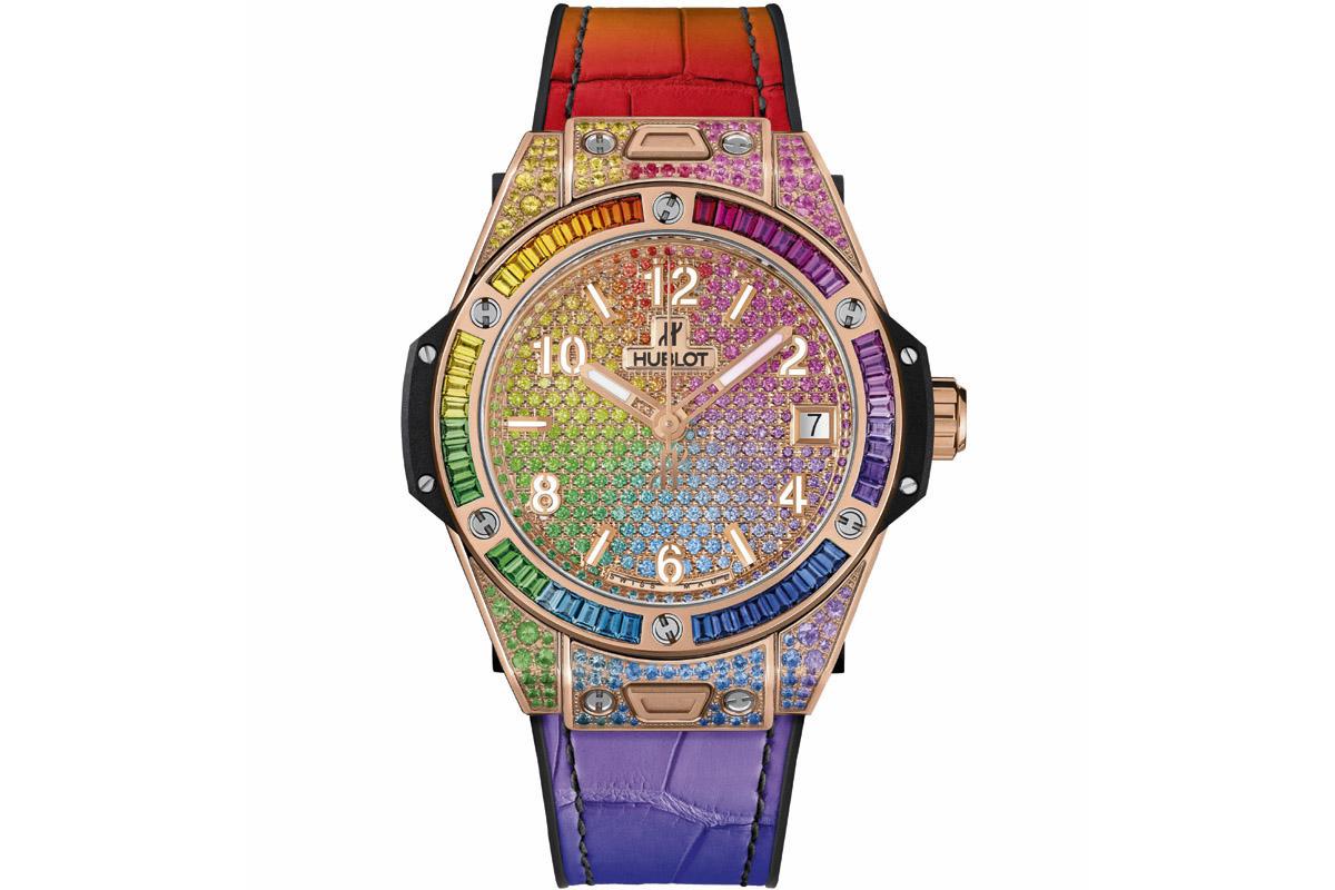 HUBLOT Big Bang One Click Rainbow