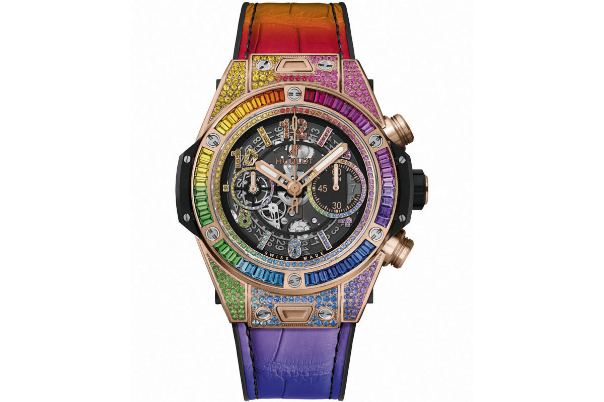 Hublot Big Bang Unico Rainbow
