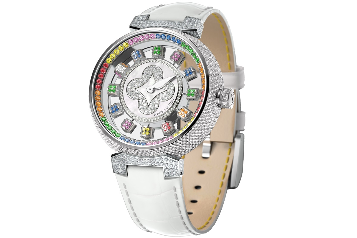 Louis Vuitton Tambour Spin Time Rainbow