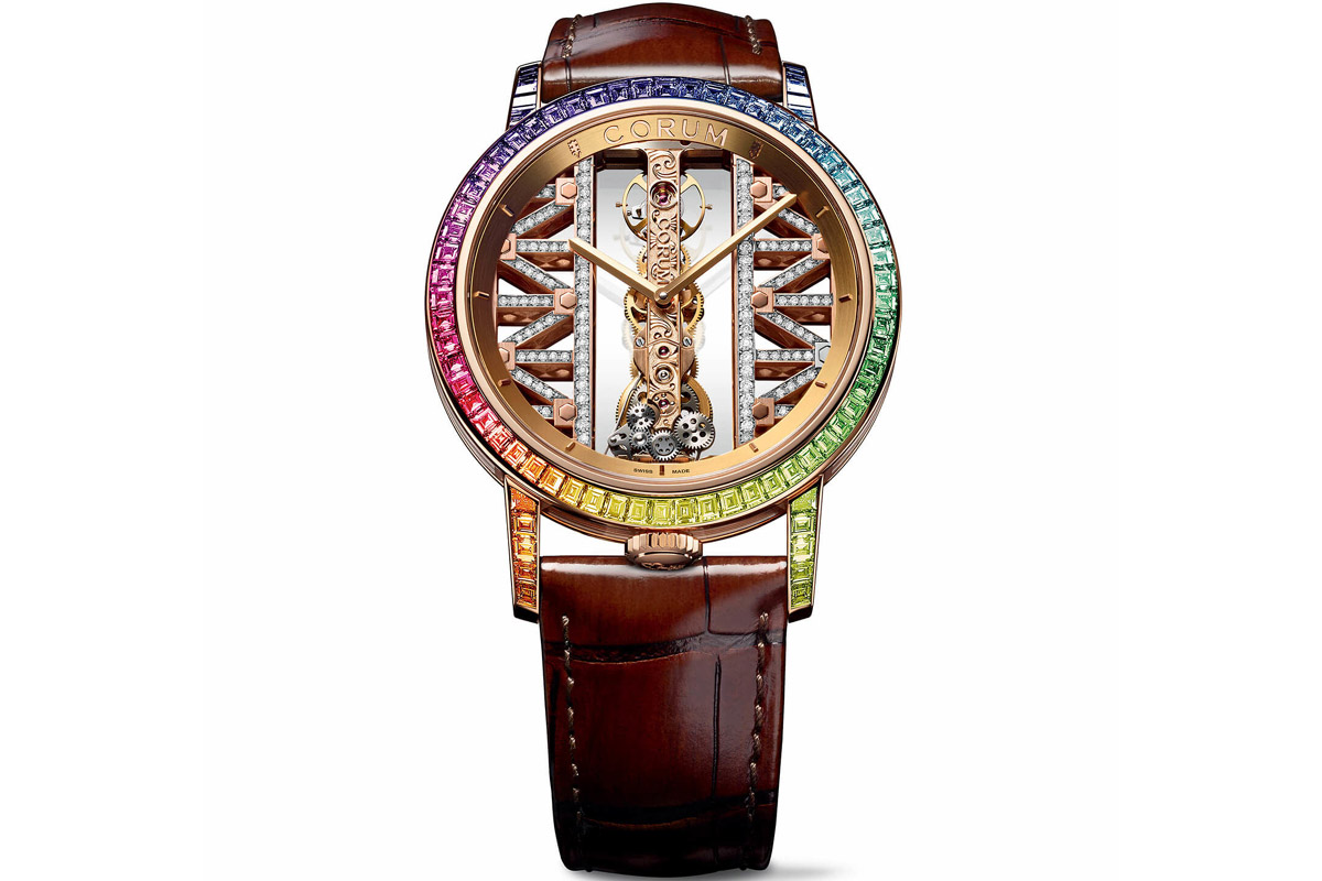 CORUM Golden Bridge Round 43