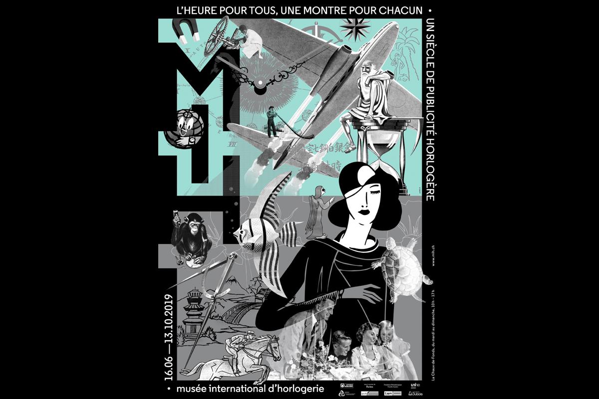 La locandina della mostra al Mih su un secolo di pubblicità