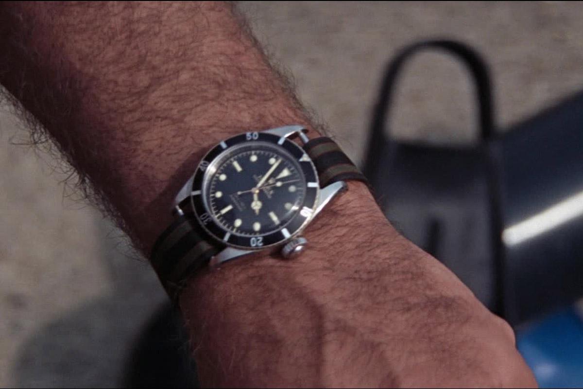 """Il Rolex 2538 in un altro frame di """"Thunderball"""""""