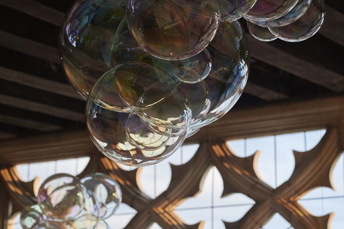 Le bolle di sapone in vetro borosilicato