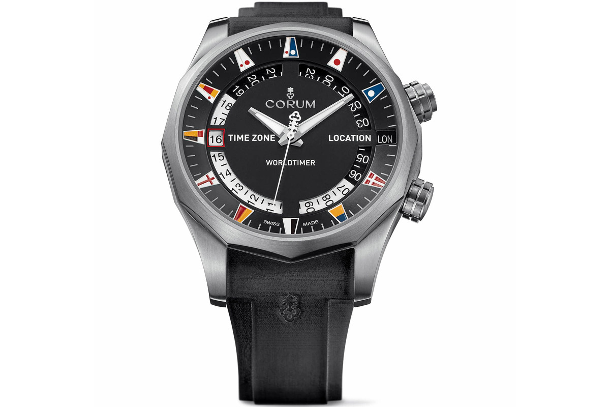 CORUM Admiral Legend 47 Worldtimer