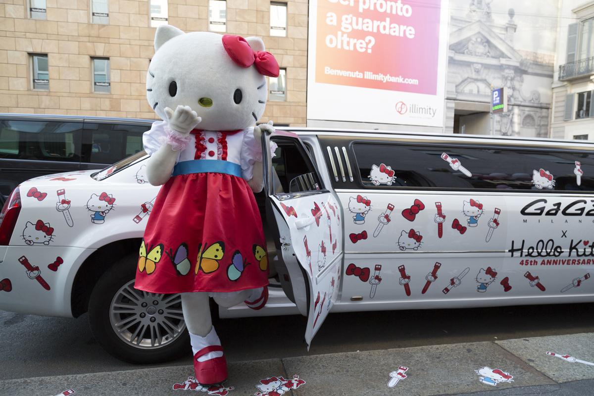 Hello Kitty arriva al party