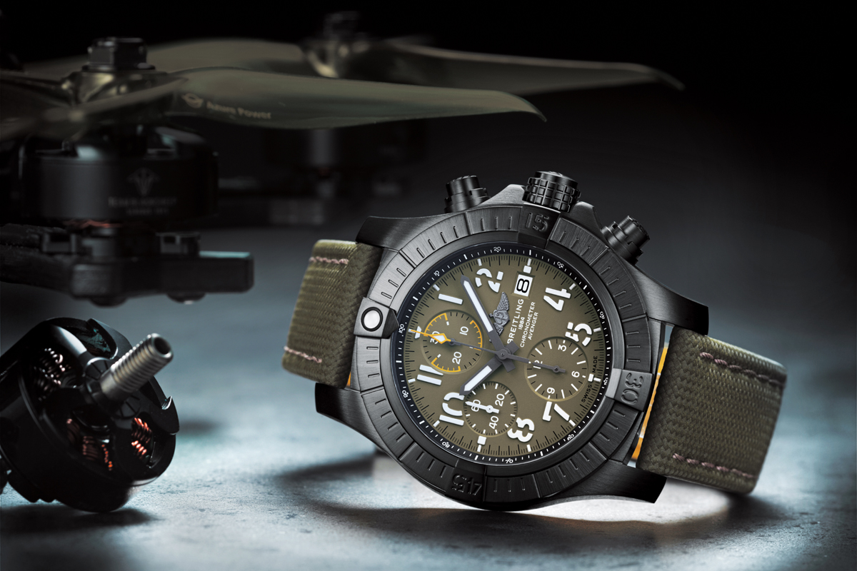 Il Breitling Avenger Chronograph 45 Night Mission