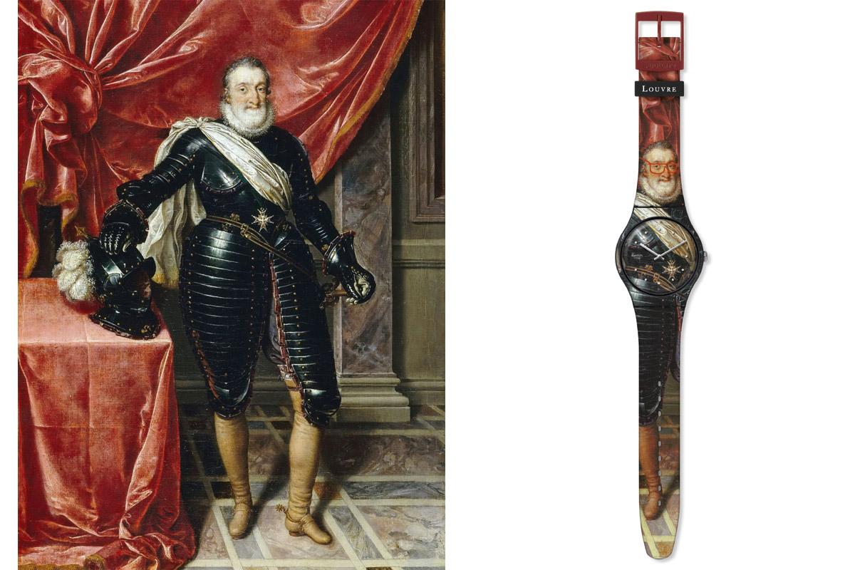 Swatch X Louvre HenrytheForce