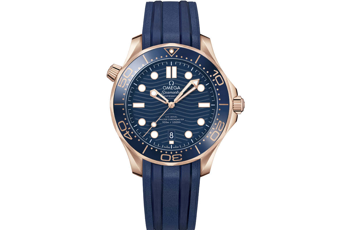 OMEGA Seamaster Diver 300 m Co-Axial Master Chronometer