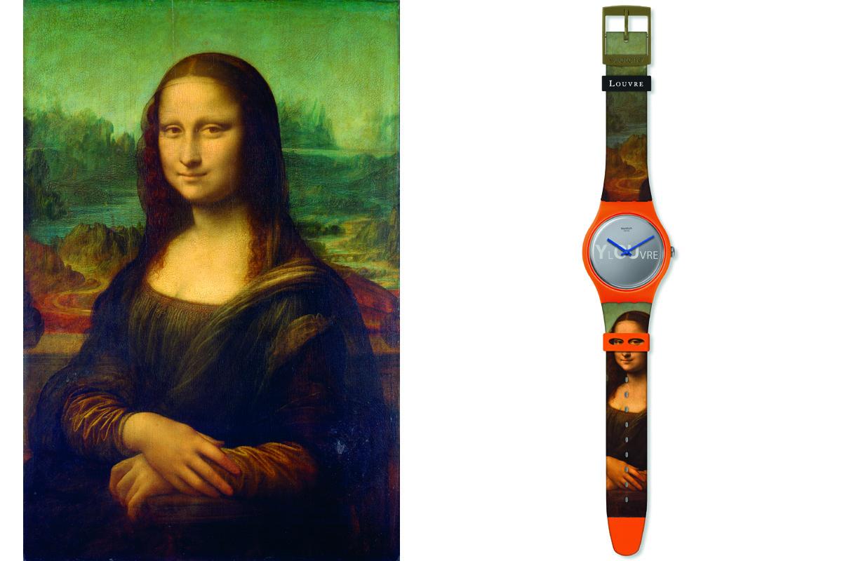 Swatch X Louvre Lisa Masquée