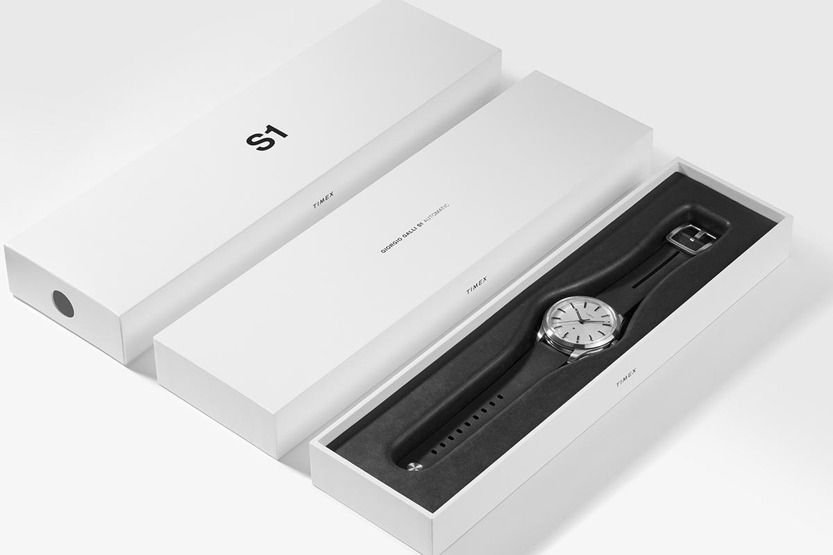 La confezione del Timex S1