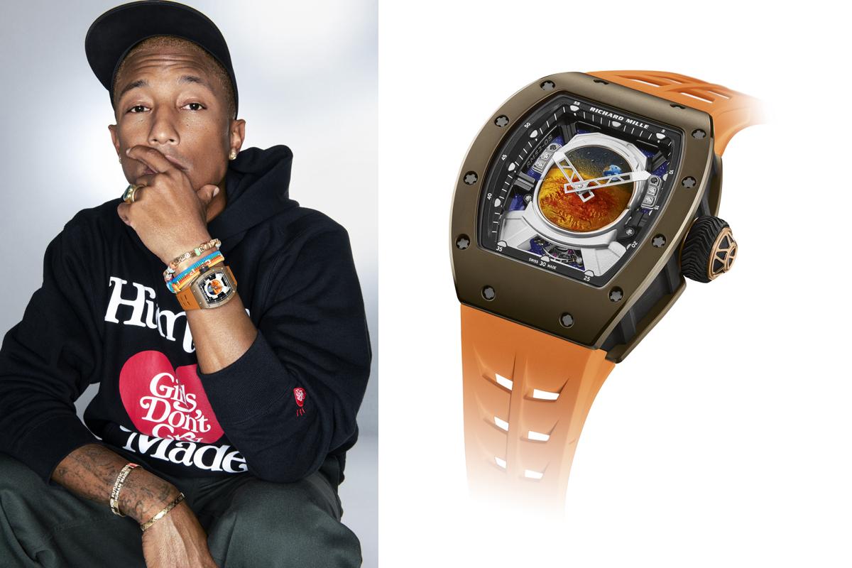 """Pharrell Williams e """"il suo"""" RM 52-05 Tourbillon"""