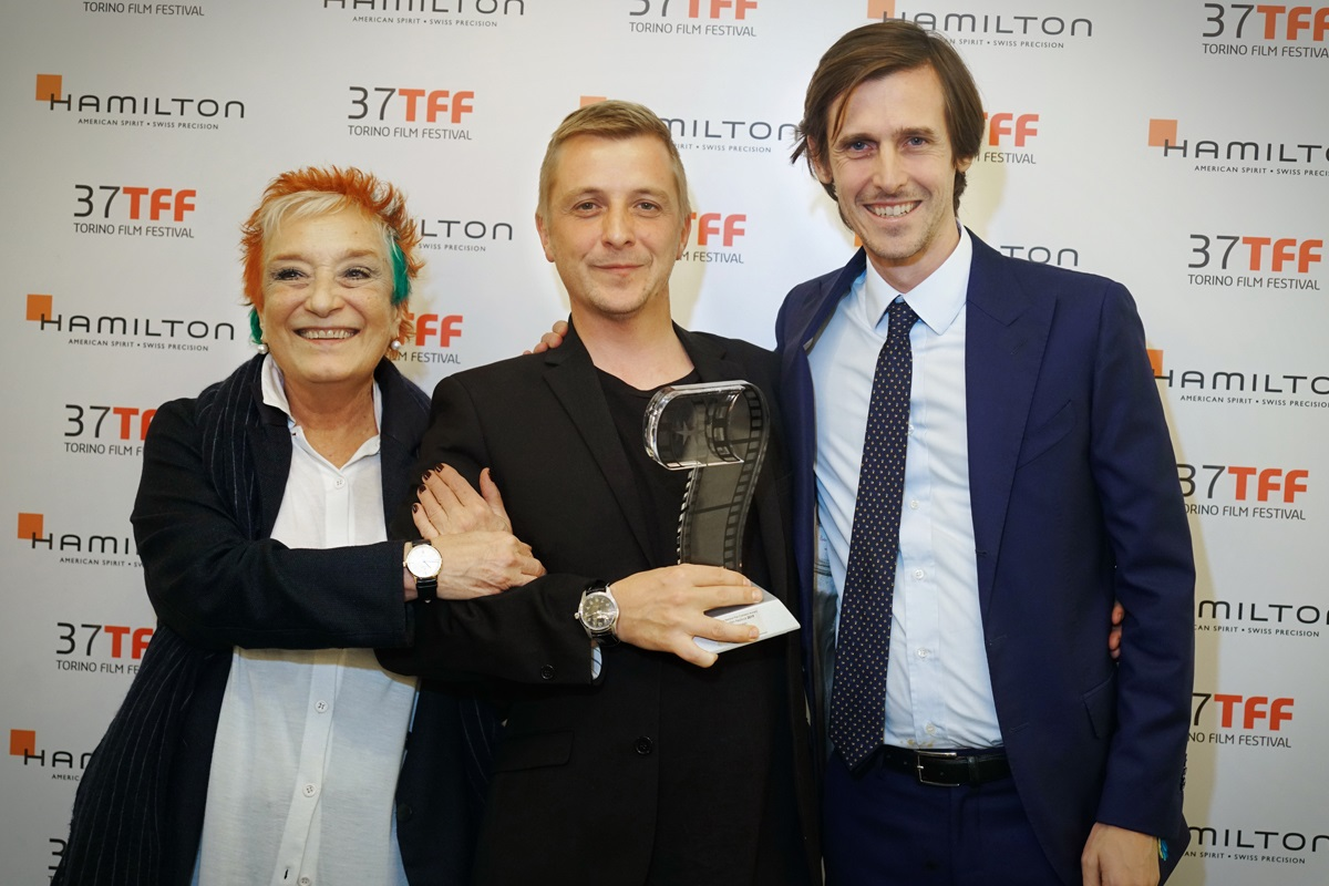 Premiazione al Torino Film Festival