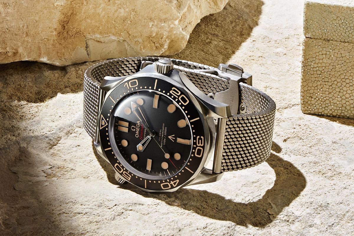 """L'orologio realizzato da Omega per """"No time to die"""""""
