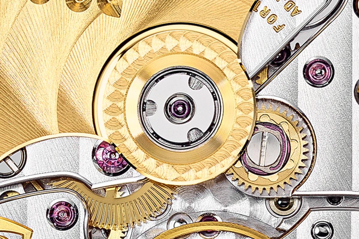 Il sistema di fissaggio nel rotore del calibro 26-330