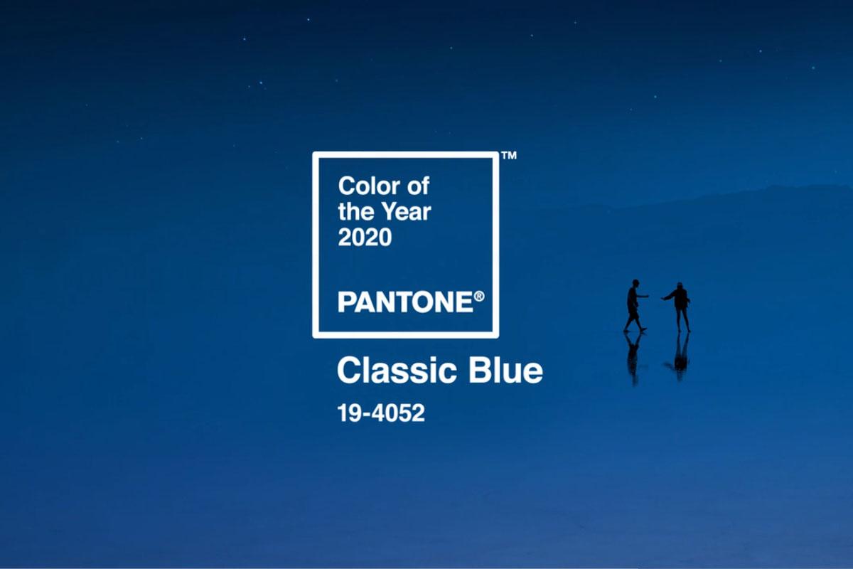 Il blu è il Pantone Color of the Year