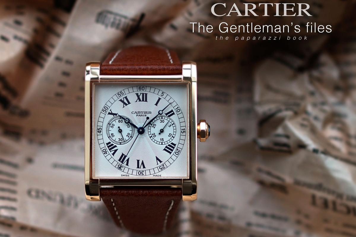 "La copertina del libro ""Cartier - The Gentleman's Files"" di George Cramer."