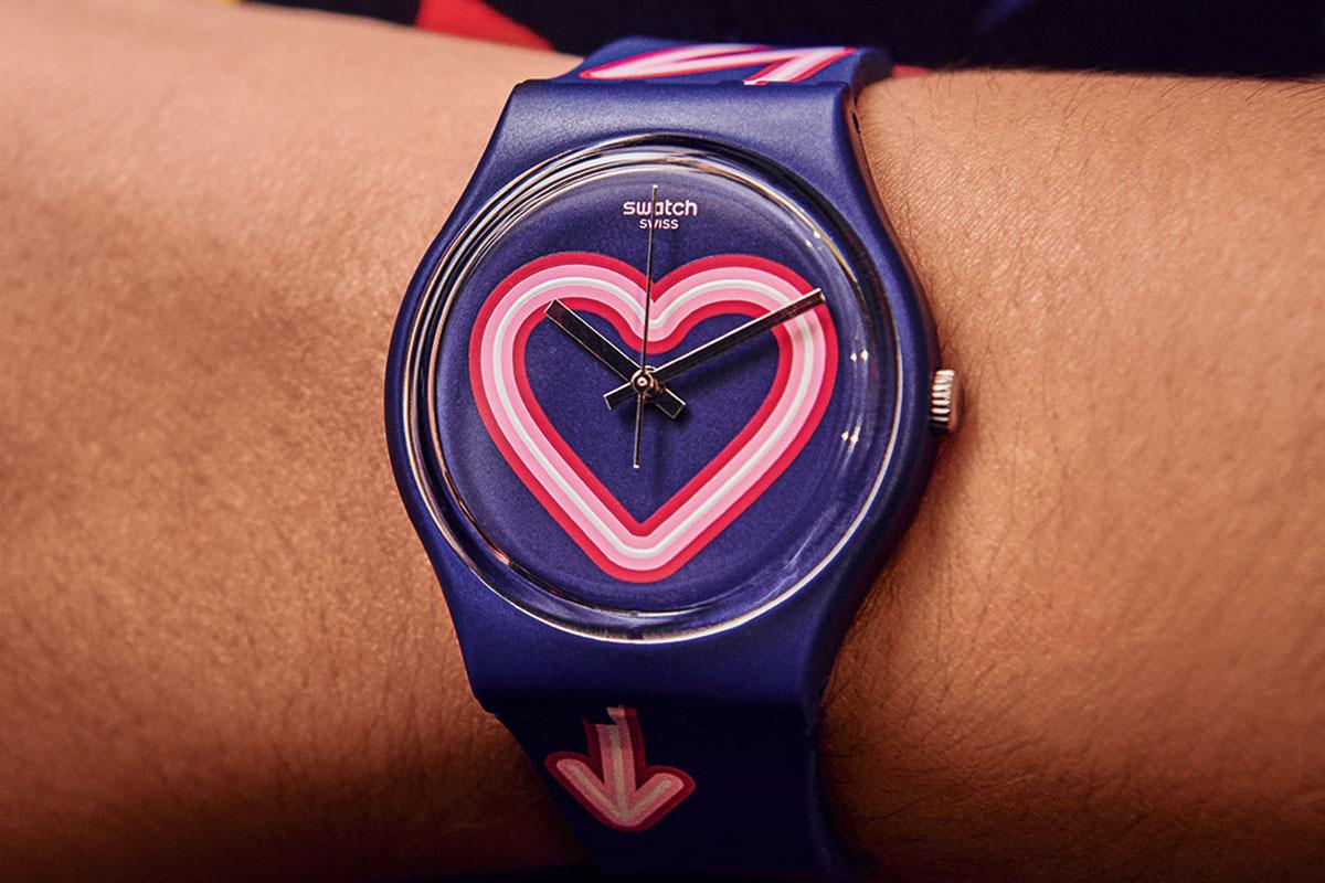 Swatch per San Valentino