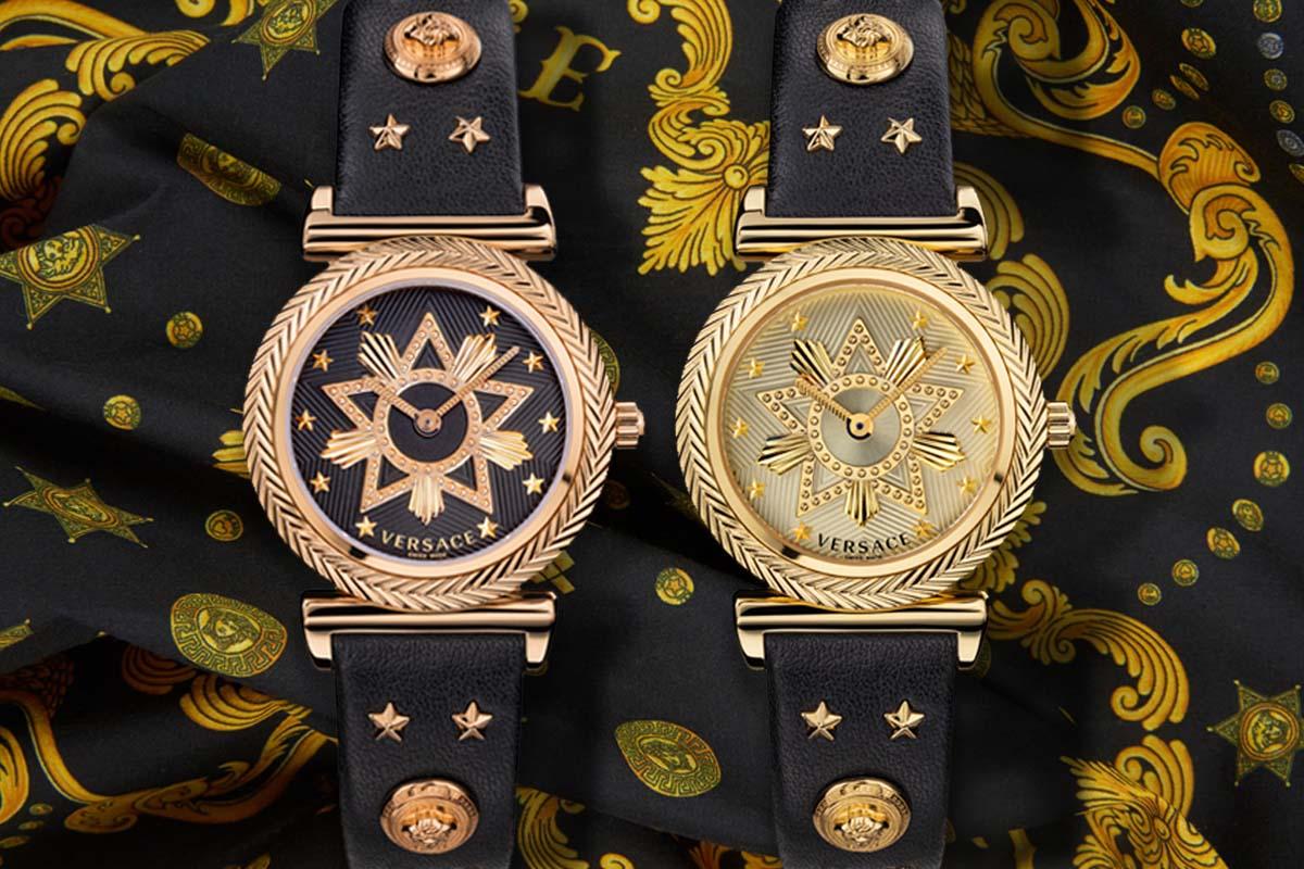 I due V-Motif Western di Versace
