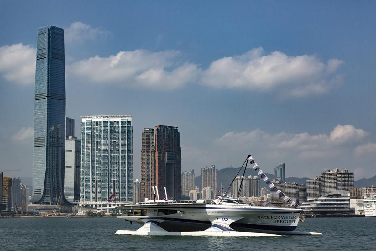 La Race for Water Odyssey fa tappa a Hong Kong