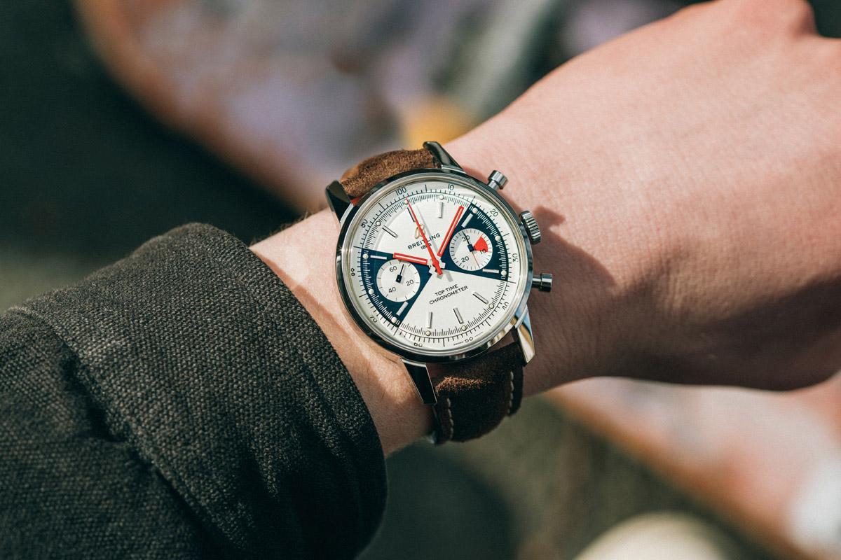 Top Time, il cronografo Breitling fornito di tecnologia blockchain