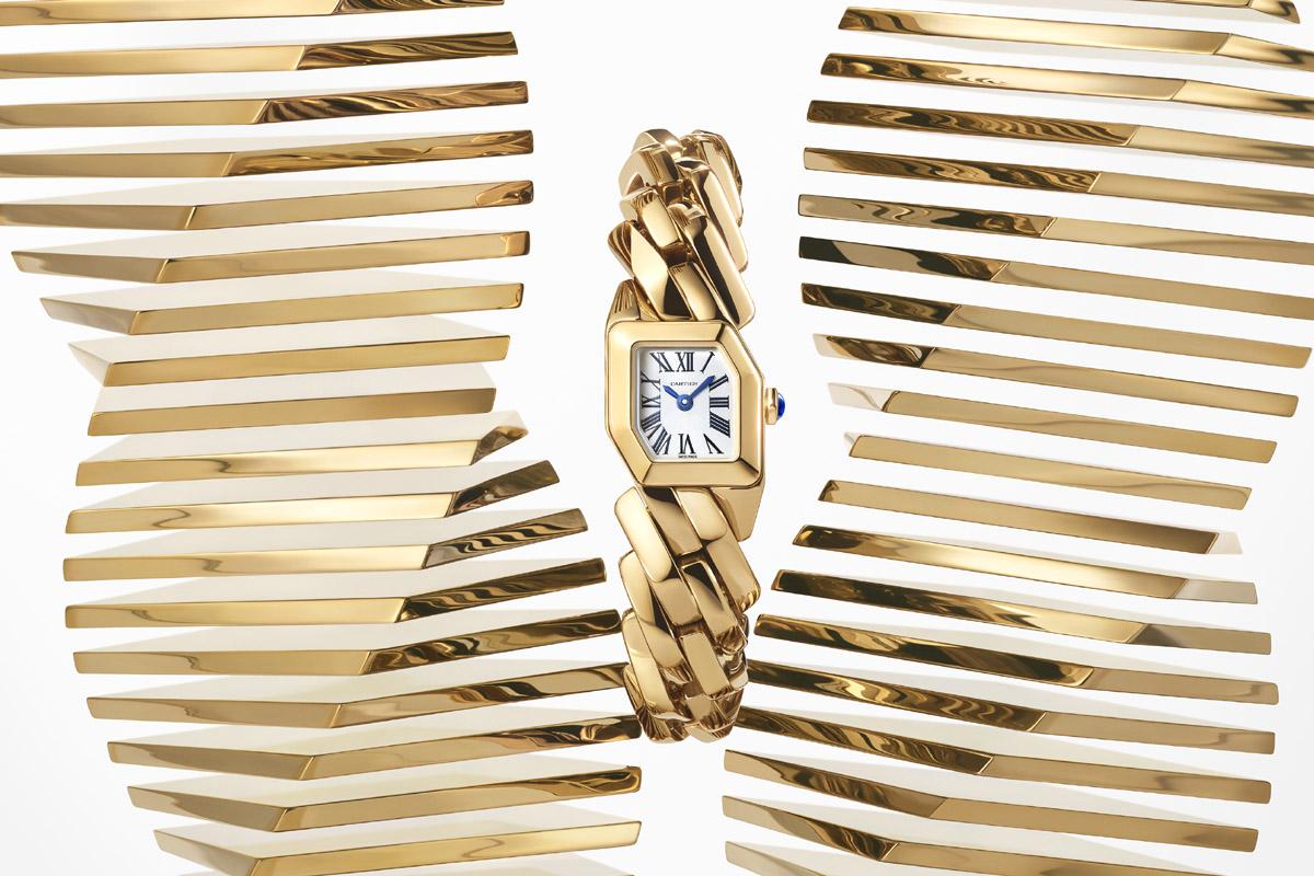 Maillon de Cartier in oro giallo