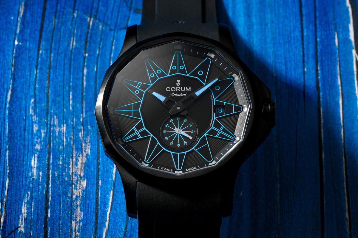 Admiral Legend 42 Automatic All Black in versione blu